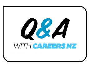 Question and Answer with Careers New Zealand graphic