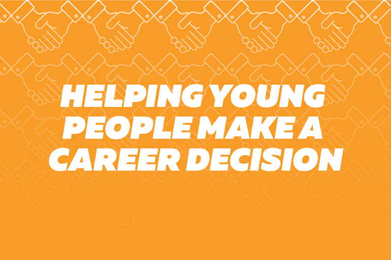 3d4 Helping young people make a career decision