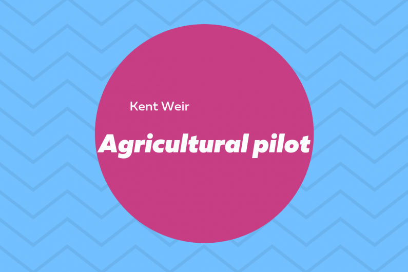 Agricultural pilot infographic