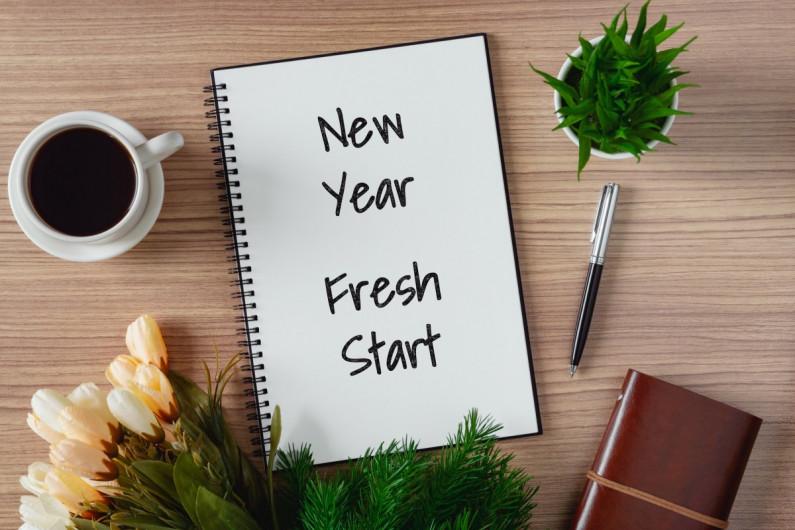 New year fresh start image