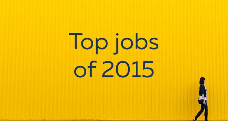 top jobs of 2015