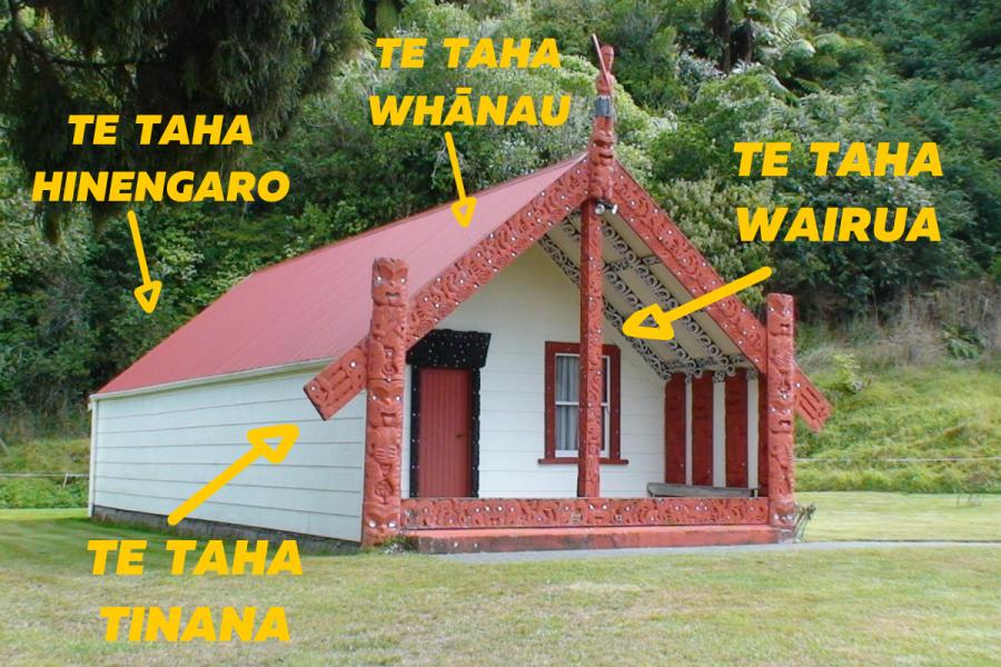 Dr Mason Durie's model of Te Whare Tapa Whā.