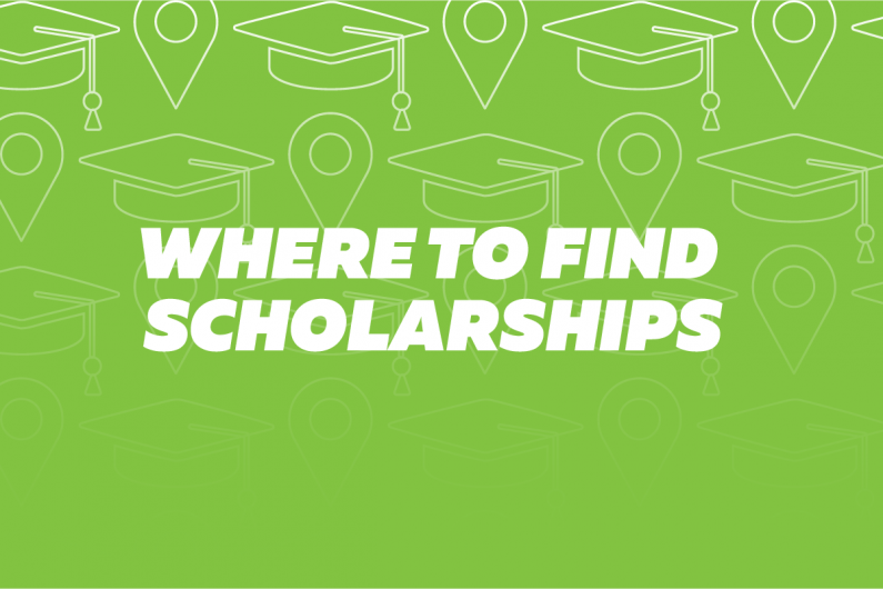 Where to find scholarships