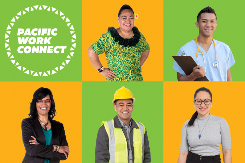 Five Pacific Work Connect representatives