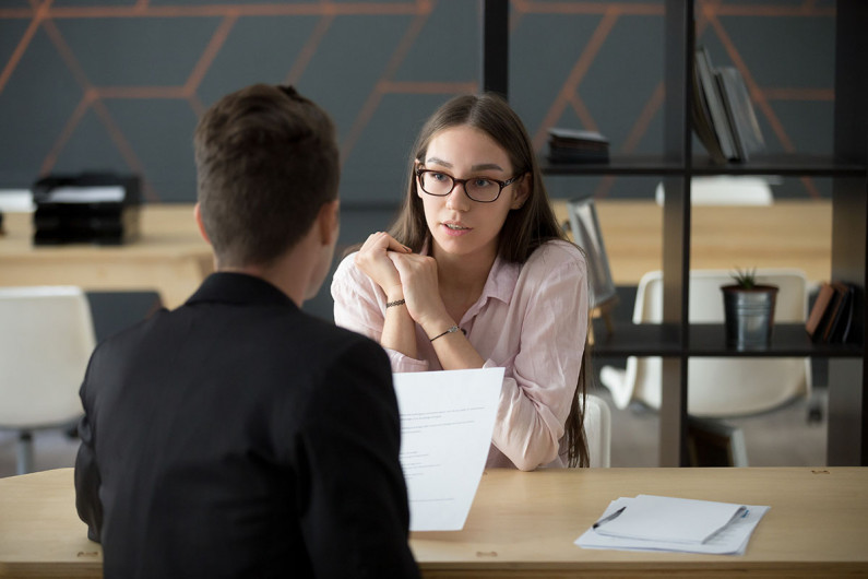 young woman job interview iStock 963814312 WEB