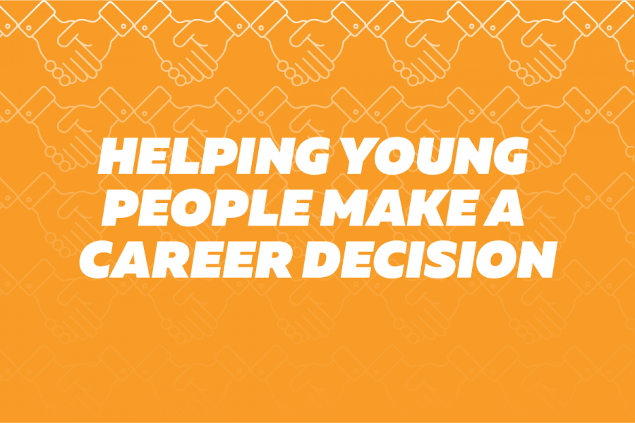 Helping young people make a career decision