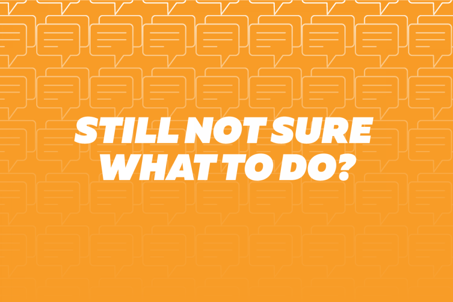 Still not sure what to do?
