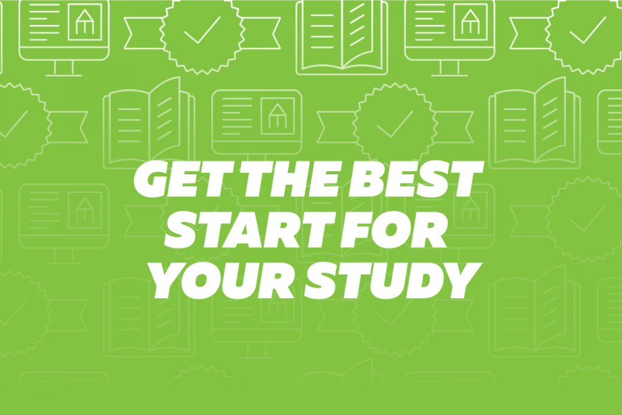 Get the best start for your study