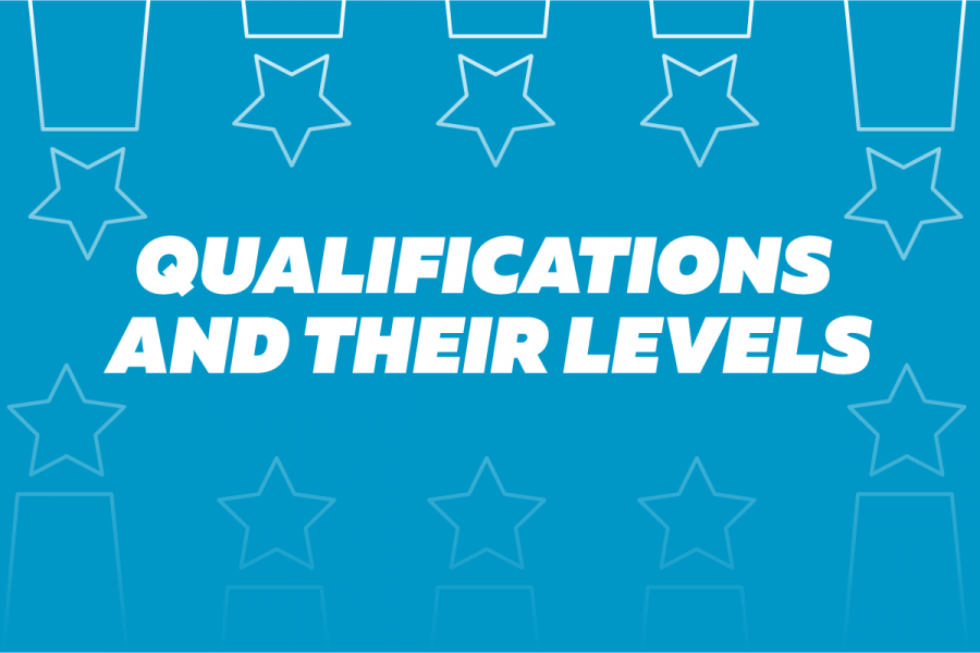 Qualifications and their levels