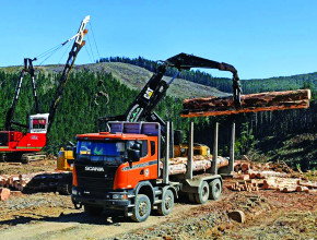 Forestry equipment and vehicles