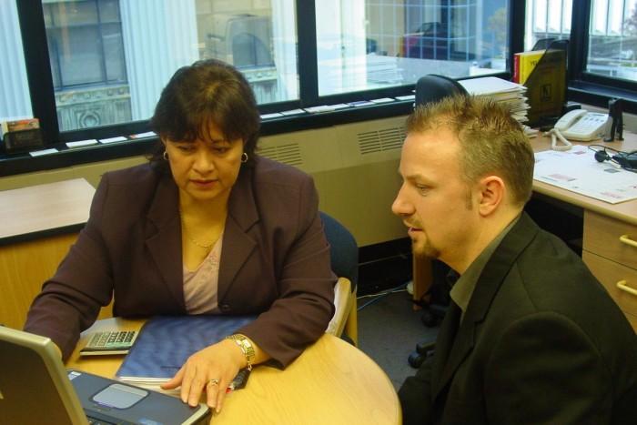 Maria Pereira advises a client