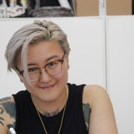 Rose Hu, tattoo artist apprentice
