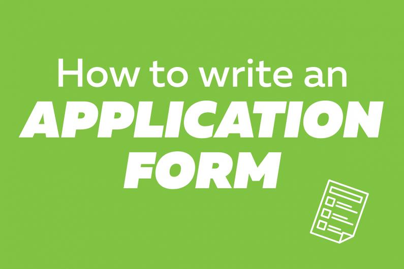 application form Copy