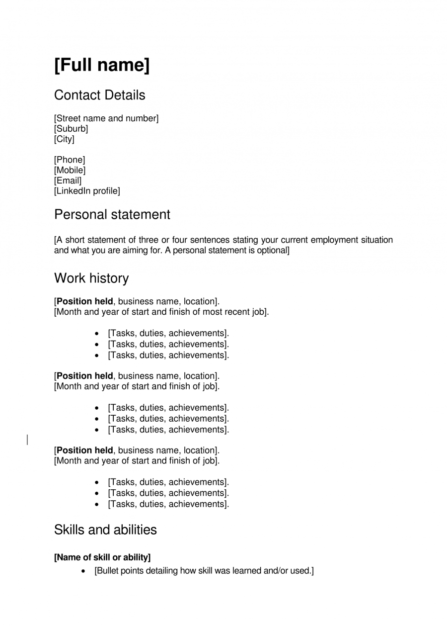 simple cover letter template nz free resume templates dayjob free – Nz Cover Letter
