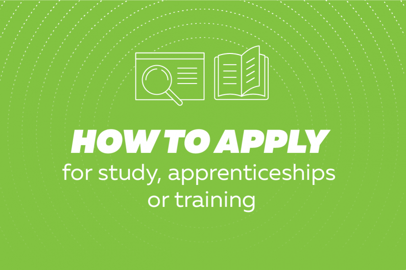 TEC AoG 18815 Plan Your Career Advice pages webtiles v4 How to apply for study apprenticeships or traning